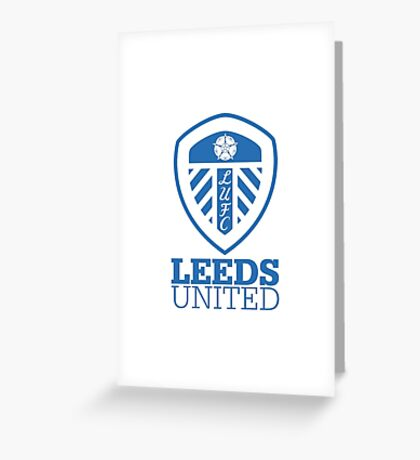 Leeds United iPhone Case Greeting Card