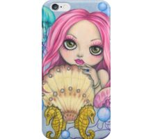 Amora, the Jellyfish Whisperer iPhone Case/Skin