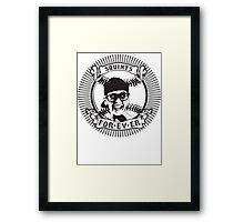 Squints For-ev-er! Framed Print