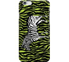 Zebra - animal colour pop art iPhone Case/Skin