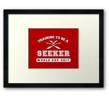 Training to be a Seeker Framed Print