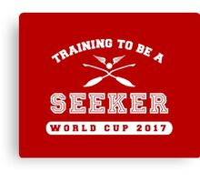 Training to be a Seeker Canvas Print