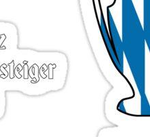 Bayern Munich 2013 Champions League Winners Sticker