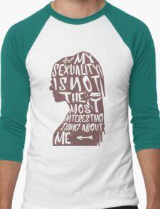 so you're bi? Men's Baseball ¾ T-Shirt
