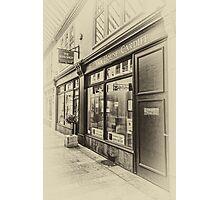 The Bear Shop Vintage Photographic Print