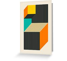 CUBES (6) Greeting Card
