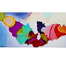 Colorful Unique Original Artist's abstract Design! Photographic Print
