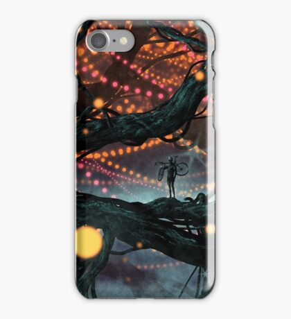 Flat Tire In Oblivion iPhone Case/Skin