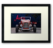 1926 Ford Roadster 'Frontal Exposure' Framed Print