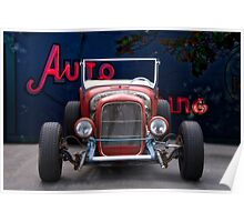 1926 Ford Roadster 'Frontal Exposure' Poster
