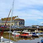 West Bay Harbour......Dorset UK by lynn carter