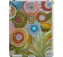 """""""Whimsical Bouquet"""" -Colorful Unique Original Artist's Floral Design! iPad Case/Skin"""