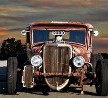 1933 Ford 'Rat Nose' Pickup  by DaveKoontz