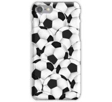 Huge collection of soccer balls iPhone Case/Skin