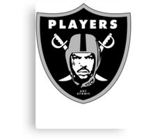 Players Club Canvas Print