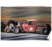 1933 Ford 'Rat Nose' Pickup II Poster
