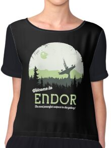 Welcome To Endor Chiffon Top
