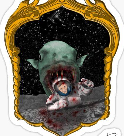 Moonacuda Sticker
