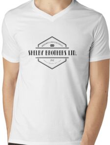 SHELBY BROTHERS LIMITED Mens V-Neck T-Shirt