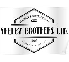 SHELBY BROTHERS LIMITED Poster