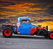 International 'Layered Look' Rat Pickup by DaveKoontz