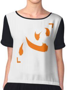 hunter x hunter netero lucky shirt symbol (Heart/Mind) anime manga shirt Chiffon Top