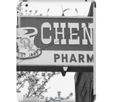 Route 66 - Chenoa Pharmacy iPad Case/Skin
