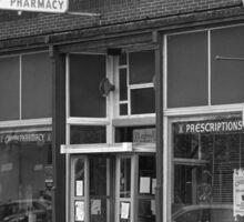 Route 66 - Chenoa Pharmacy Sticker