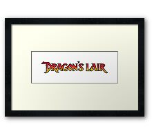 Dragons Lair - Simply Framed Print