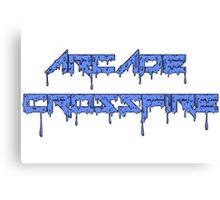 Ice Blue Slime Canvas Print