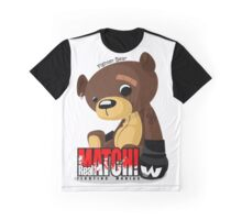 Fighter Bear Tedy Doll can Fight MMA Bear Fighter Shirt Mix Martial Art Graphic T-Shirt