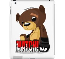Fighter Bear Tedy Doll can Fight MMA Bear Fighter Shirt Mix Martial Art iPad Case/Skin