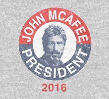 Vintage John McAfee for President 2016 Unisex T-Shirt
