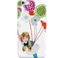 Flowers take me away! iPhone Case/Skin
