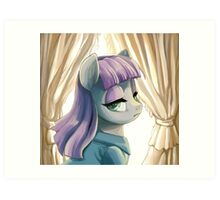 Maud Pie portrait Art Print