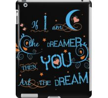 Live like there is no tomorrow iPad Case/Skin