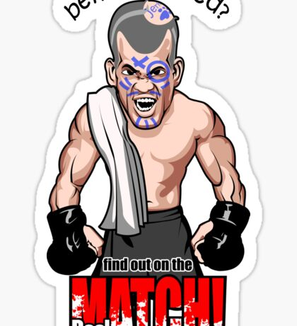 Being Bullied Mixed Martial Arts MMA for all fighters Sticker