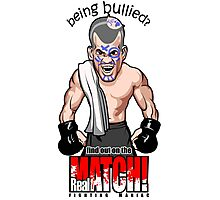 Being Bullied Mixed Martial Arts MMA for all fighters Photographic Print