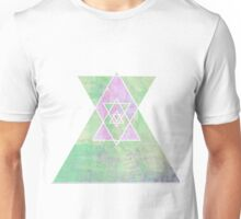 Soft colours Triangle Unisex T-Shirt