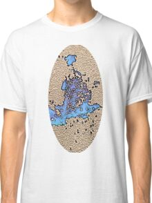 Psychedelic Oblong Classic T-Shirt