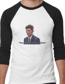 Ben Wyatt - Municipal Bond Men's Baseball ¾ T-Shirt