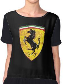 Ferrari vintage cars Chiffon Top
