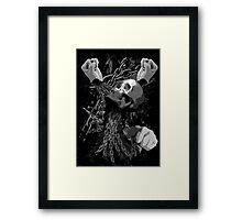 Pit Fighter Skull Chain MMA Mixed Martial Art  Framed Print