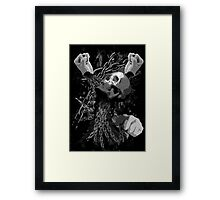 Pit Fighter Skull Chain MMA Mixed Martial Art  Framed Print