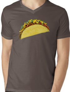 Hard shelled taco Mens V-Neck T-Shirt