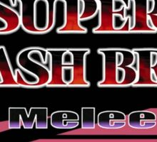Melee logo Sticker