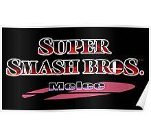 Melee logo Poster