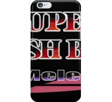 Melee logo iPhone Case/Skin