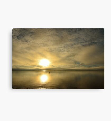 Sunset across the Moray Firth Canvas Print