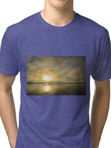 Sunset across the Moray Firth Tri-blend T-Shirt